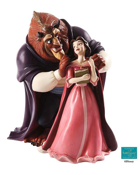 WDCC Disney Classics Beauty And The Beast Belle And Beast  A New Chapter Begins
