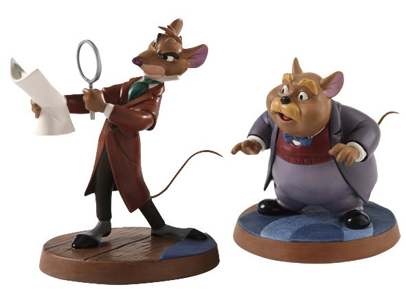 WDCC Disney ClassicsThe Great Mouse Detective Basail & Dr Watson Curious Clue