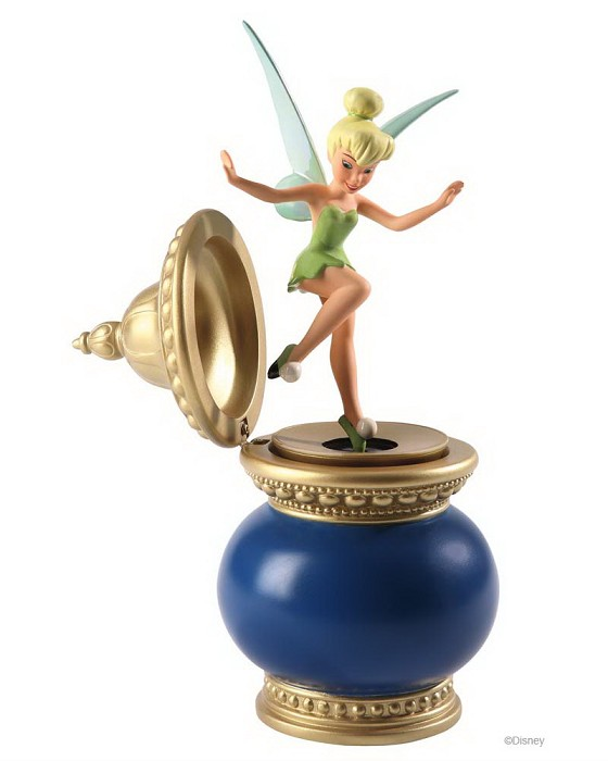 WDCC Disney Classics Peter Pan Tinker Bell And Inkwell Mischief Maker