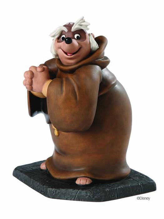 WDCC Disney ClassicsRobin Hood Friar Tuck Bemused Badger