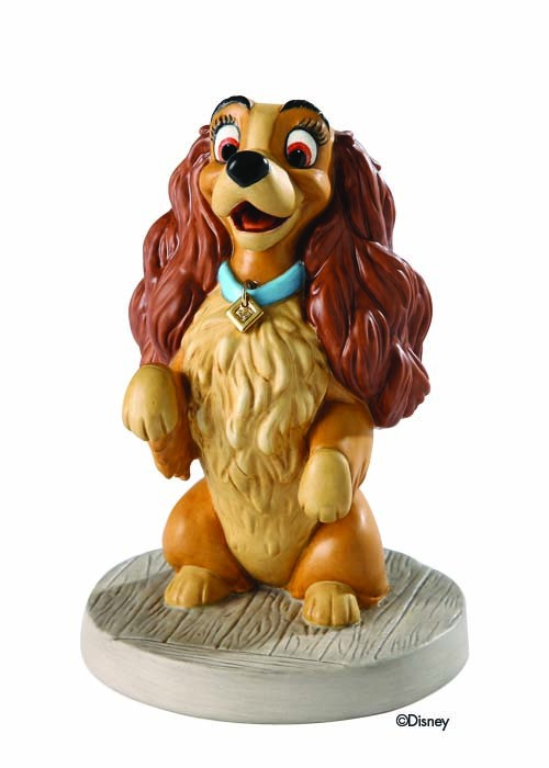 WDCC Disney Classics Lady And The Tramp Lady Warm Welcome