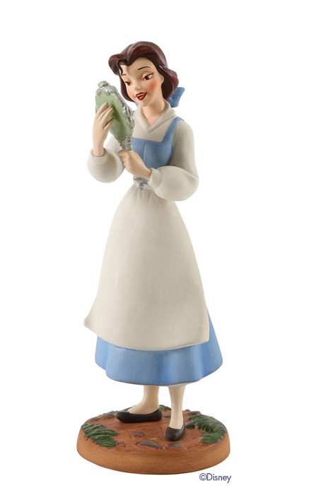 WDCC Disney Classics Beauty And The Beast Belle (with Mirror) He's Really Kind And Gentle He's My Friend