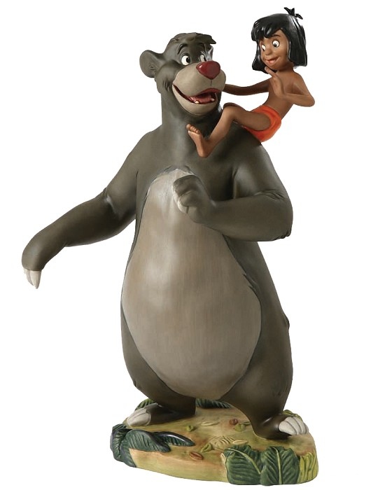 WDCC Disney Classics The Jungle Book  Baloo And Mowgli Good Ol Papa Bear