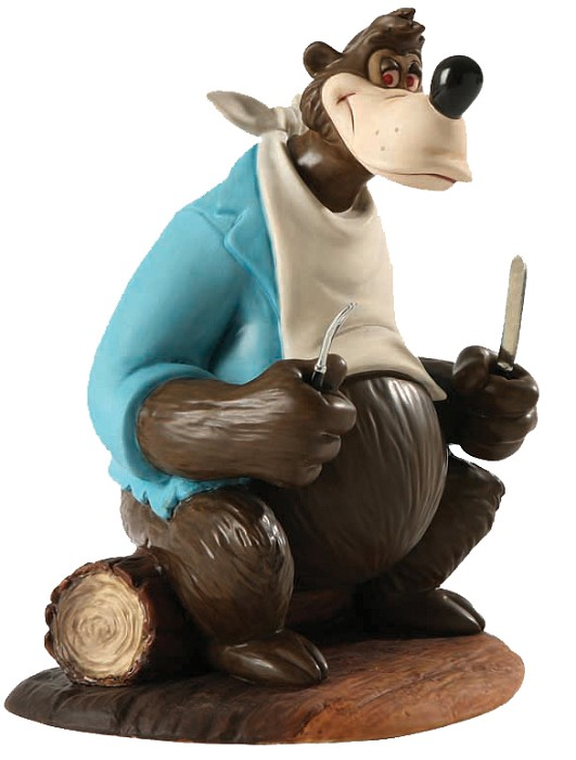 WDCC Disney ClassicsSong Of The South Brer Bear A Hankering For Hare