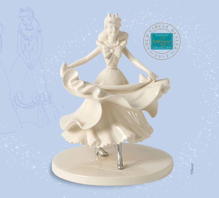 WDCC Disney Classics Cinderella Isn't it Lovely? Do you like it? Gold Circle Exclusive
