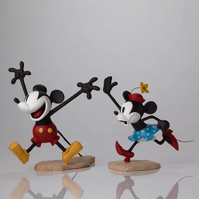 Walt Disney Archives Mickey and Minnie Color Maquettes