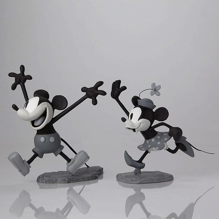 Walt Disney ArchivesMickey and Minnie B/W Maquettes