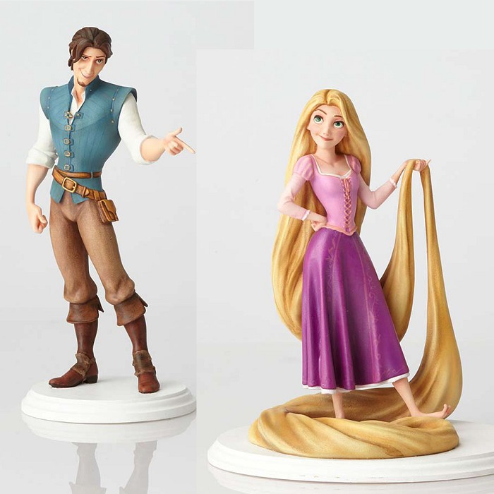 Walt Disney Archives Rapunzel & Flynn Rider Maquette From Tangled