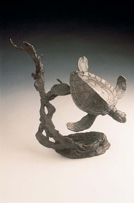 Mark HopkinsSea TurtleBronze Sculpture