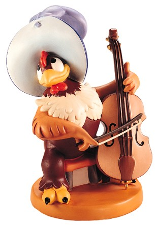 WDCC Disney ClassicsSymphony Hour Clara Cluck Bravo Bravissimo