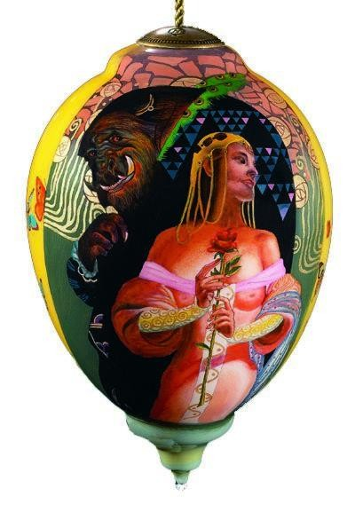 Thomas Blackshear Neqwa Beauty and the beast Neqwa Ornament