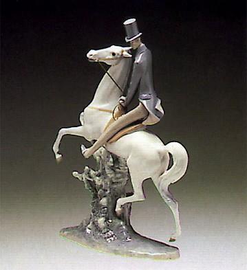 LladroMan On Horse 1969-85