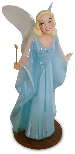 WDCC Disney ClassicsPinocchio Blue Fairy Making Dreams Come True