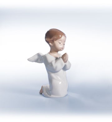 Retired Lladro Angel, Praying