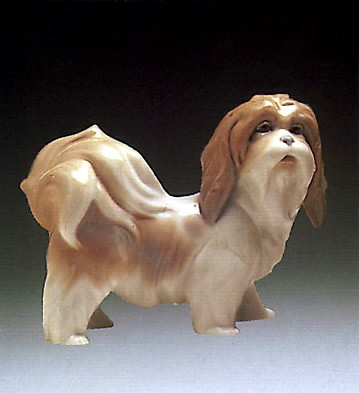 Lladro Dog 1969-81 Porcelain Figurine