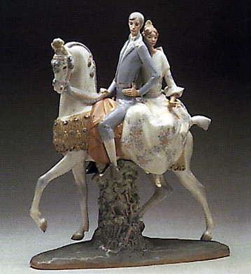 Lladro Valencians Group 1969-90 Porcelain Figurine