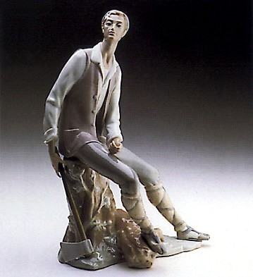 Lladro Woodcutter 1969-78 Porcelain Figurine