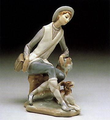 LladroShepherd 1969-85Porcelain Figurine
