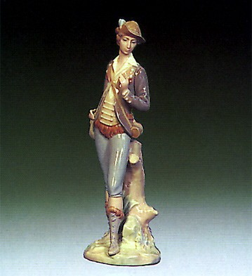 Lladro Country Man 1970-81 Porcelain Figurine