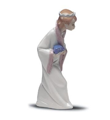 LladroKing Gaspar 1969-2001Porcelain Figurine