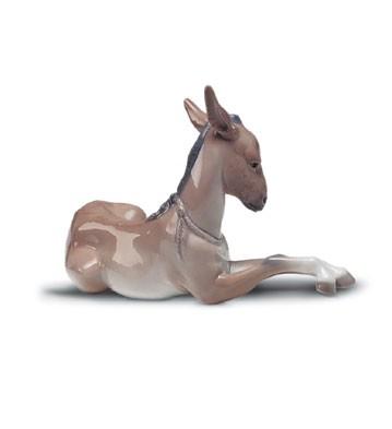 LladroDonkey 1969-2001Porcelain Figurine