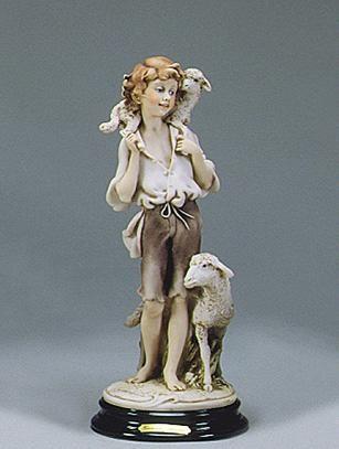 Giuseppe ArmaniBoy With Sheep  Ret 02