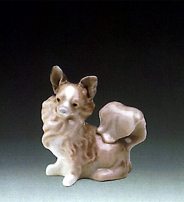 Lladro Small Dog 1971-85 Porcelain Figurine