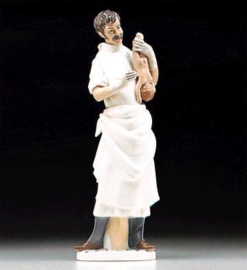 LladroObstetricain 1971-93Porcelain Figurine