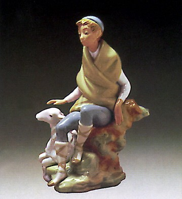 Lladro Little Shepherd 1972-82 Porcelain Figurine