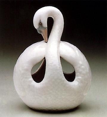 LladroSwan 1972-83Porcelain Figurine