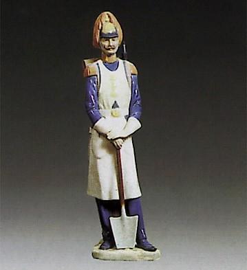 LladroSoldier 1973-76Porcelain Figurine