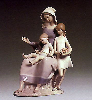 Lladro Mother 1974-79 Porcelain Figurine