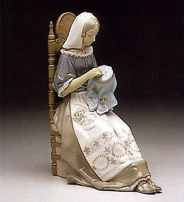 Lladro Embroiderer 1974-94