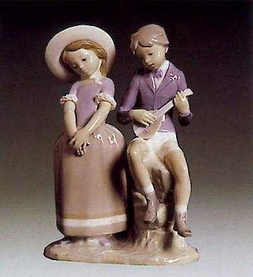LladroAdolescence 1974-79Porcelain Figurine