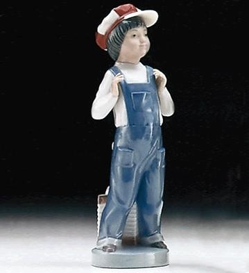 Lladro Boy From Madrid 1974-97