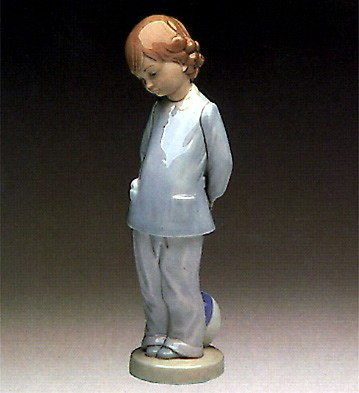 Lladro Punishment 1974-83 Porcelain Figurine
