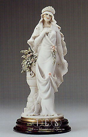 Giuseppe Armani Bride With Flower Vase- Retired