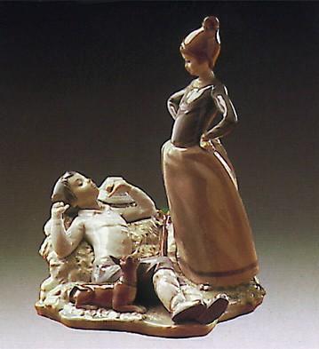 LladroLaziness 1974-80Porcelain Figurine