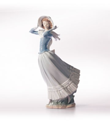 Retired Lladro Spring Breeze