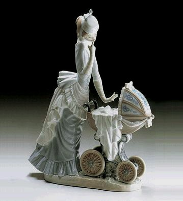 Lladro Baby's Outing 1976-00