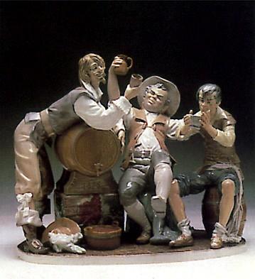 LladroTavern Drinkers 1977-1985Porcelain Figurine