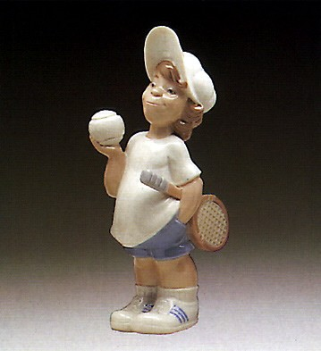 Lladro Tennis Player Puppet 1977-85