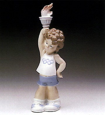 Lladro Olympic Puppet 1977-83