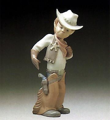 LladroSherriff Puppet 1977-85Porcelain Figurine