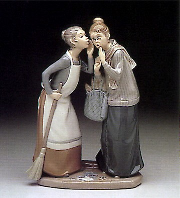 Lladro The Gossips 1978-85 Porcelain Figurine