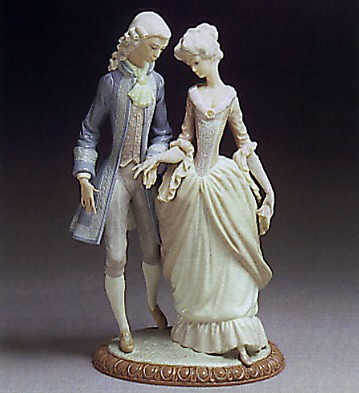 Lladro Walk in Versailles 1978-81