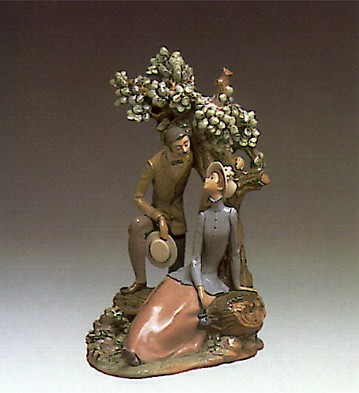 Lladro Re-Encounter 1978-81 Porcelain Figurine