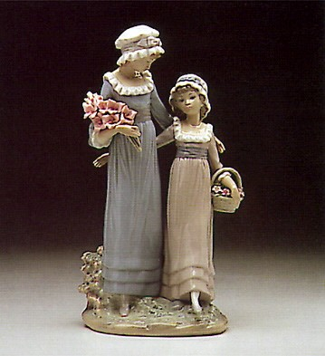 Lladro Daughters 1978-91 Porcelain Figurine