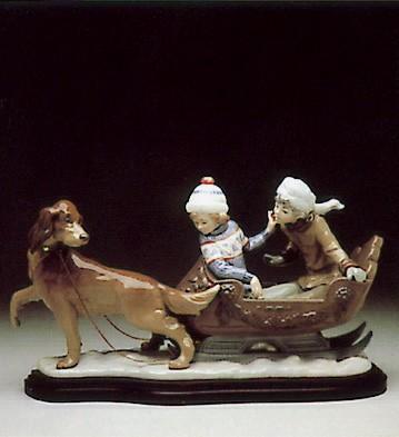 LladroSleigh Ride 1980-96