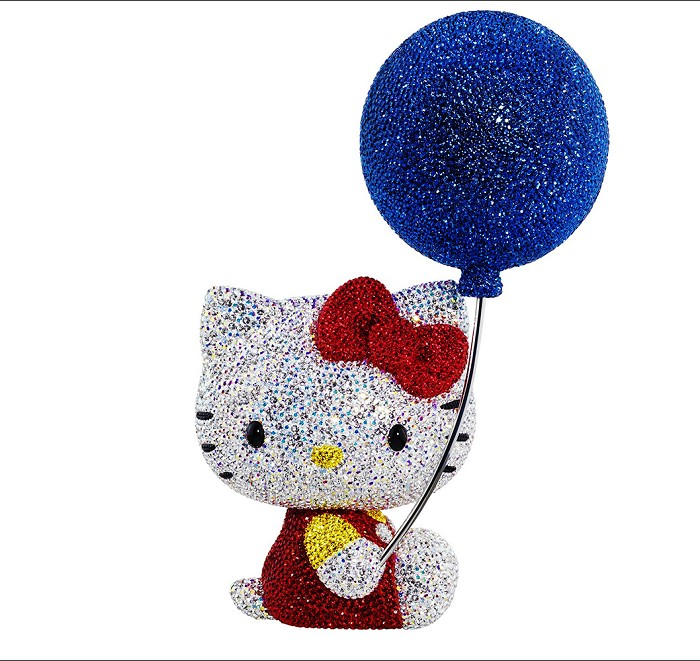 Swarovski Crystal Myriad Hello Kitty 2014